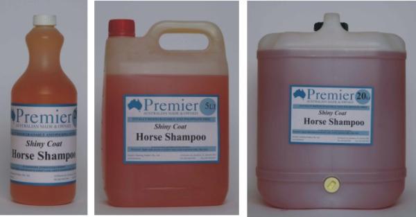 Shiny Coat Horse Shampoo